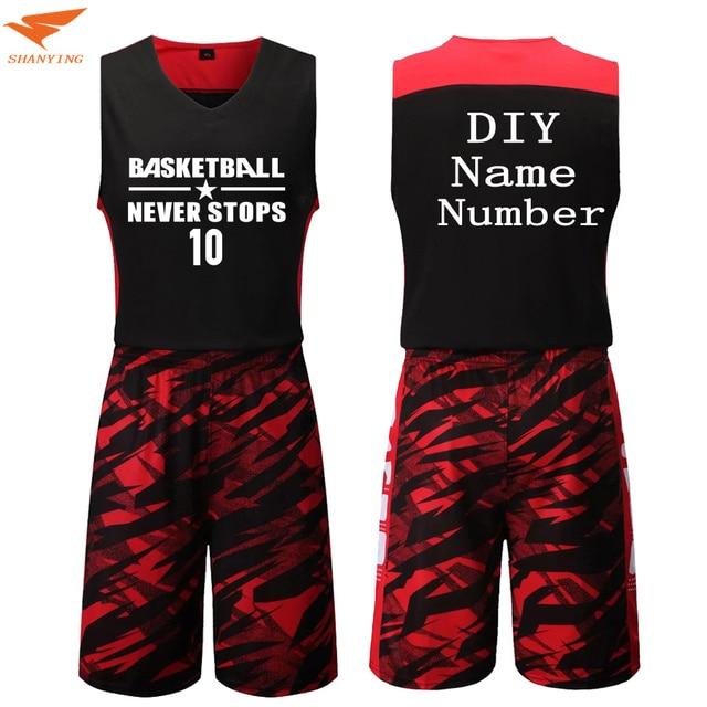 Спортивные Бег Костюмы Баскетбол Майки комплекты пустой Баскетбол Майки  форма дышащий дешевые Training Майки костюмы на 12424942541