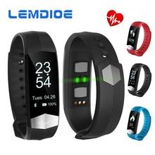 Lemdioe CD01 Bluetooth Smart Band ЭКГ сердечного ритма артериального давления смарт-браслет Фитнес Браслет для iOS телефонах Android