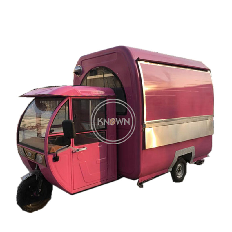 2.2m Electric power factory customize design 3-wheelers food cart food tricycle  cart truck with conopy2.2m Electric power factory customize design 3-wheelers food cart food tricycle  cart truck with conopy