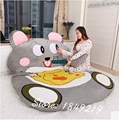Dorimytrader New Cartoon Animal Mouse Bed Plush Soft Giant Beanbag Tatami Sofa Mattress Carpet 2 Sizes Free Shipping DY61096