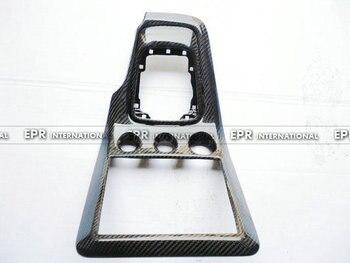 Per Nissan S15 Silvia OEM In Fibra di Carbonio Radio & Gear Surround (2 pcs) body Kit Trim Corse Parte Per Silvia S15 Tuning