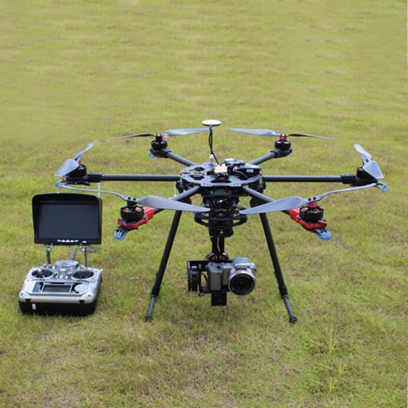 Professional Carbon folding axis aerial vehicle 5n 5r gh3 gh4 single micro aerial TV propaganda dedicated