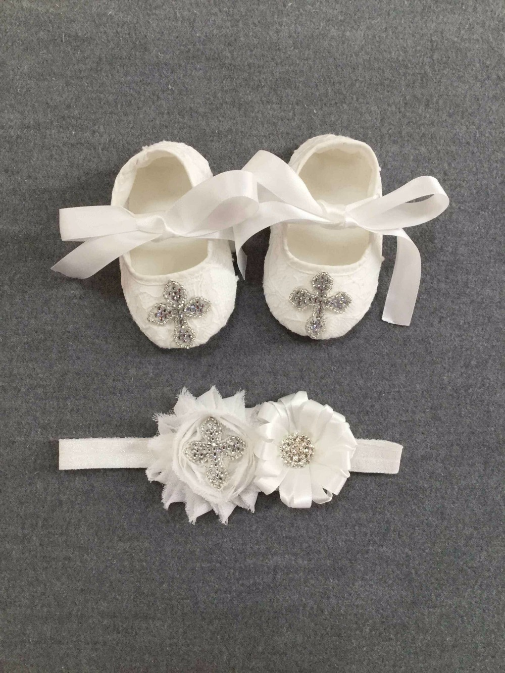 2017 0 18m soft baby shoes crochet toddler infant White Lace Christening Shoes newborn infant baby girl princess