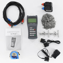 Portable Digital Ultrasonic Liquid Flowmeter Handheld flow meter TDS-100H DN50-700mm M2 Transducer m2 sensors dn 50mm 700mm flow meter for tds 100f