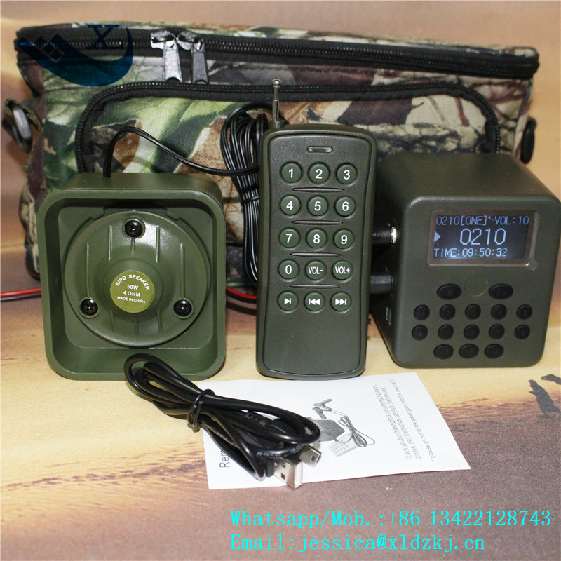 Xilei Outdoors Bird Hunting Device 50W 150Db Remote Control 898B Quail Hunting With Timer dc 12v remote control 50w bird hunting device for hunting
