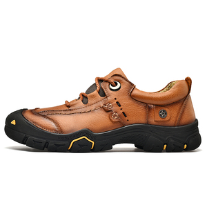 Image 4 - CLAX Mens Scarpe Da Lavoro Genuino maschile In Pelle Alla Caviglia Stivali uomo Casual Calzature Scarpe di Cuoio chaussure homme Plus Size