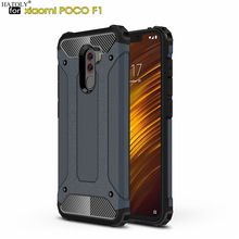 HATOLY Coque Xiaomi Pocophone F1 Case Mi Little F1 Heavy Arm