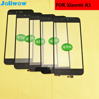 5PCS Lot For Xiaomi Mi A1 MiA1 MDG2 Touch Screen Glass Digitizer Sensor Touchpad Replacement Front
