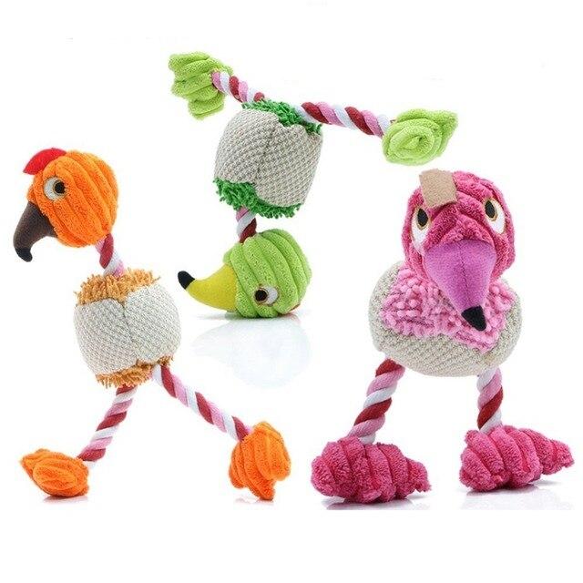 28*6 cm Pet Products Forma di Uccello Peluche Cane Giocattolo per Cani di Piccol