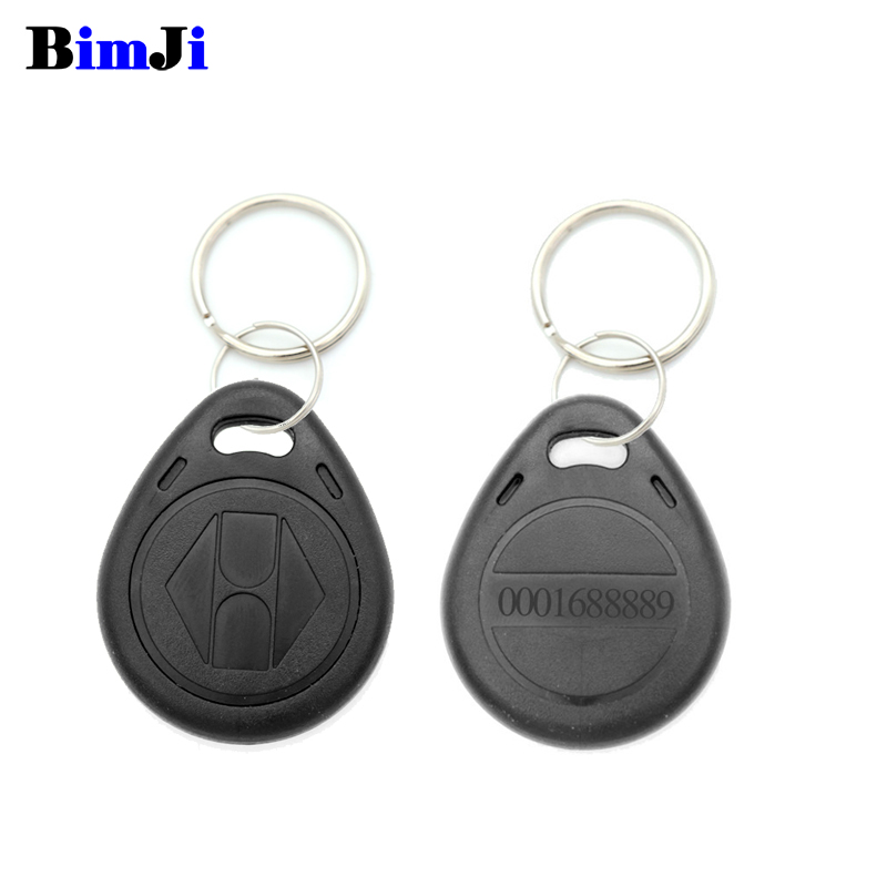 Image 2 - 100pcs Rfid Tag 125Khz TK4100 EM4100 Proximity RFID Card Keyfobs Access Control Smart Card 10 Colors Free Shipping-in IC/ID Card from Security & Protection