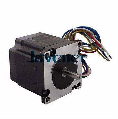 SHSTM57 Stepping Motor DC 3 Phase Angle 1.2/5.8A/6V/6 Wires/Single Shaft jhstm57 stepping motor dc 2 phase angle 1 8 3 2v 4 wires single shaft ratio 10