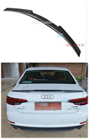 High Quality Carbon Fiber Spoiler For Audi A4 B9 2017 2018 2019 Rear Wing Spoilers Auto Accessories