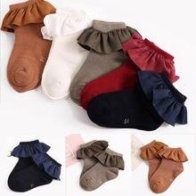 Нескользящие носки для маленьких девочек; сезон осень-зима; новые теплые носки