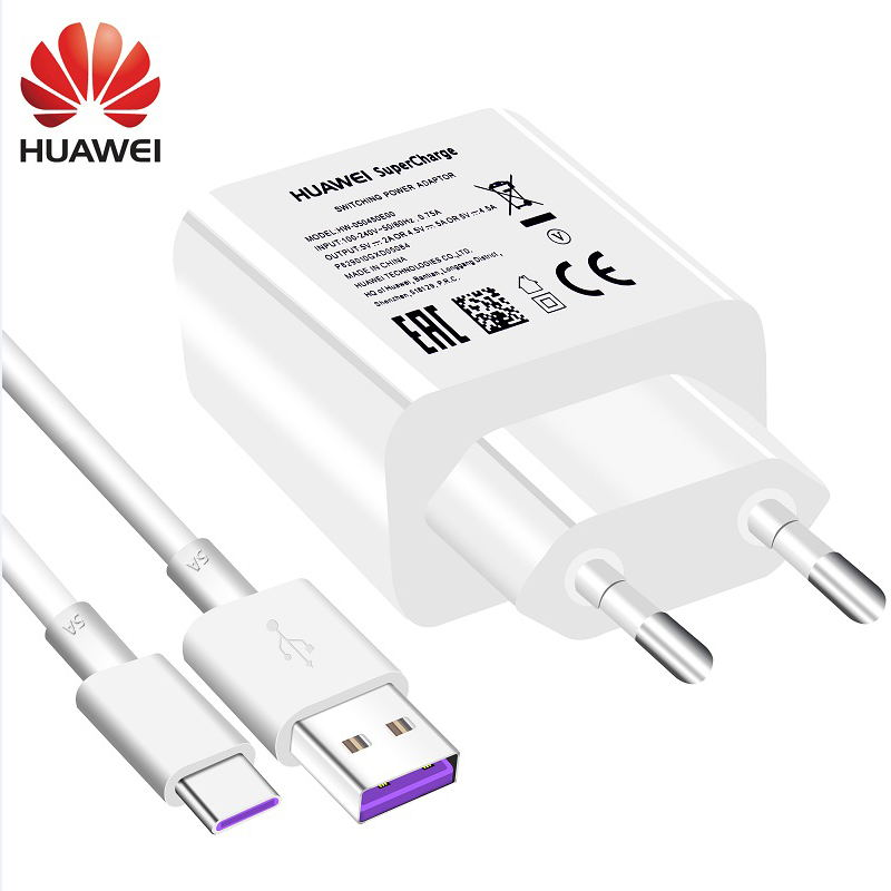 Huawei Mate 9 10 Pro P10 más P20 Pro lite rápido tipo-c cargador USB 3,0 tipo c Supercharge P 20 Honor V10 7C 7X V8 adaptador