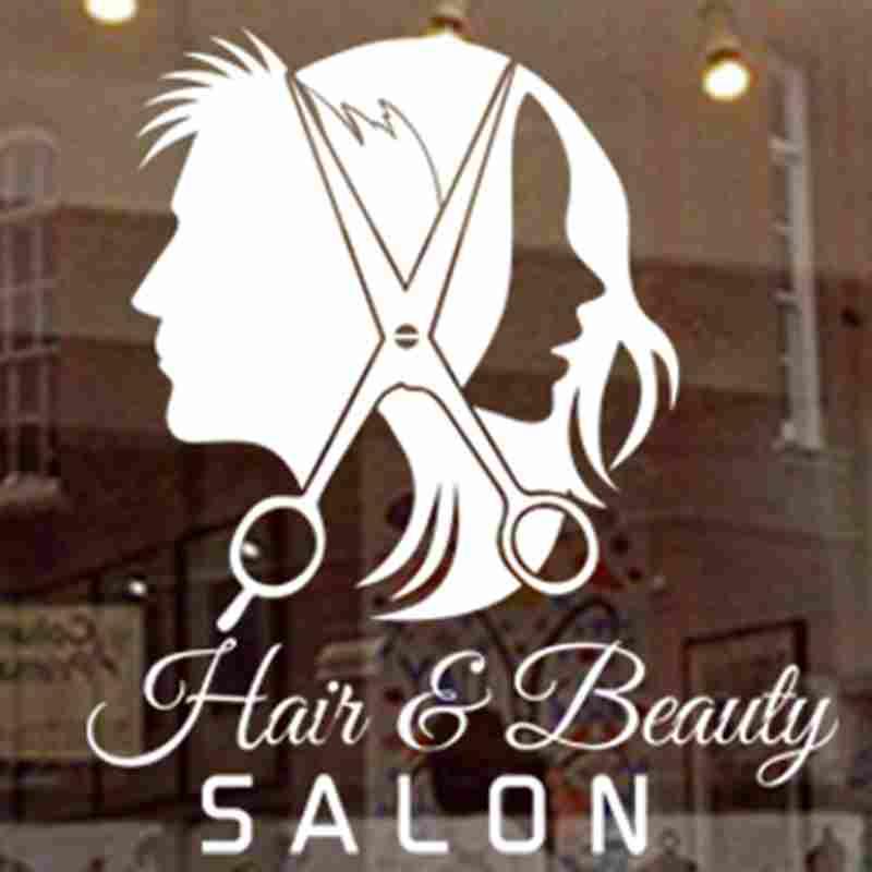 DCTAL Unisex Hair Salon Sticker Hairdresser Decal Barber Shop Plakáty Vinylové samolepky Dekorace Nástěnná malba Hair Salon Sticker