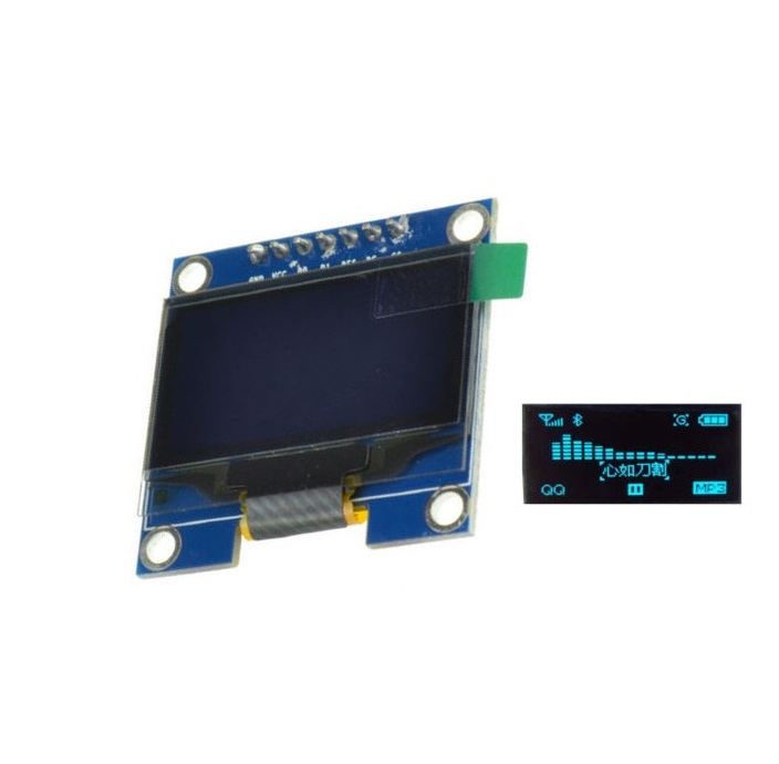 1PCS 1.3 Blue SPI Serial 128x64 OLED LCD Display Screen Module For Arduino