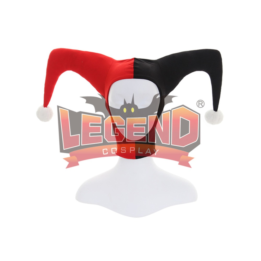 Suicide Squad Cosplay Suicide Squad Harley Quinn cosplay accessories harley quinn hat mask headwear