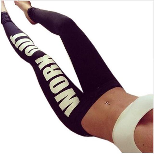 Women Work Out Printed Leggings