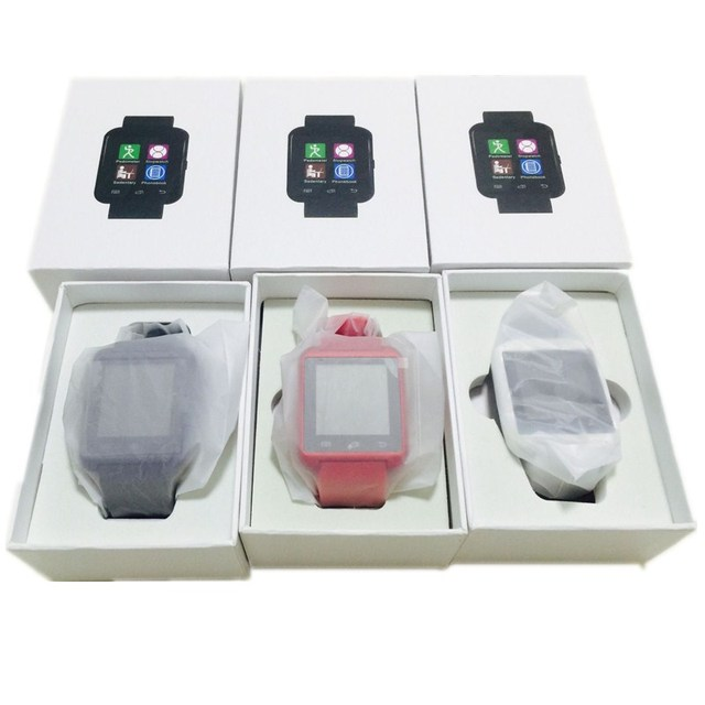 Новый Пакет Box U8 Смарт Электронные Часы MTK Bluetooth Наручные Часы для IOS или Android LG Huawei Xiaomi PK GT08 smart watch
