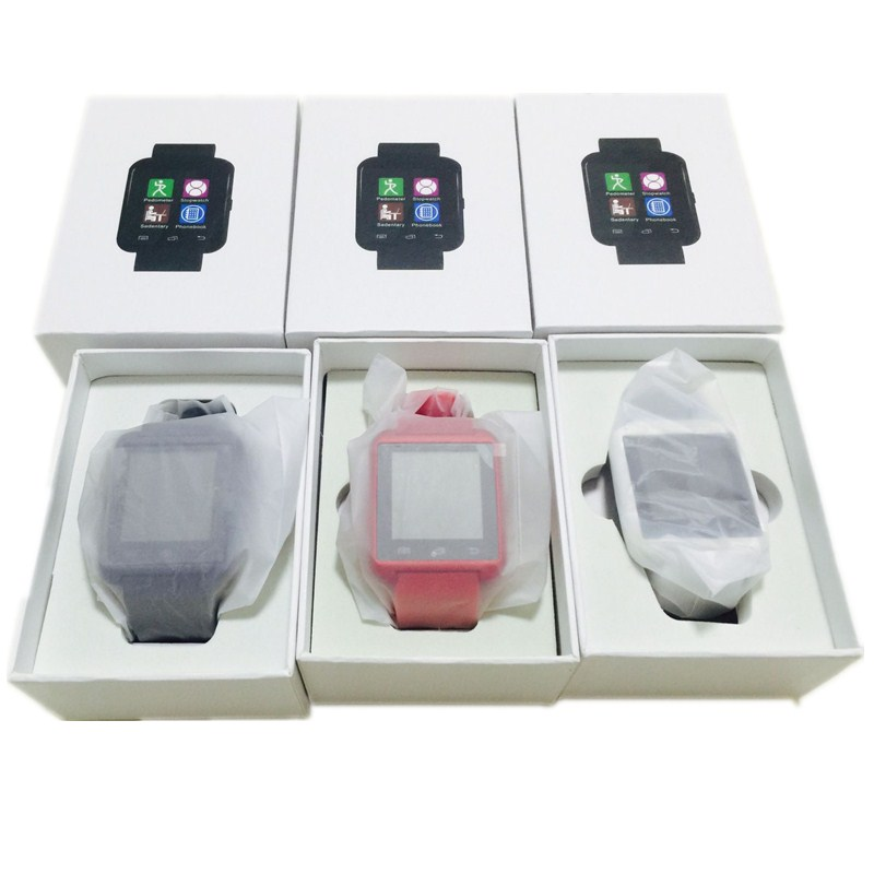 New Package Box U8 Smart Electronic Watch MTK Bluetooth Wrist Watch for IOS or font b
