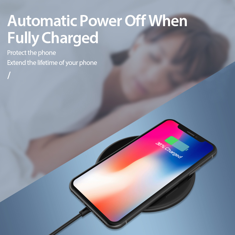 Image 5 - Coolreall 15W Qi Wireless Charger for Samsung S9 S10 iPhone X XS MAX XR 8 Plus for Xiaomi 9 Huawei P30 pro 10W Wireless Charging-in Mobile Phone Chargers from Cellphones & Telecommunications