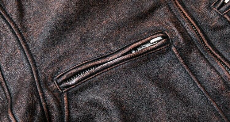 HTB14 BJlXooBKNjSZPhq6A2CXXas MAPLESTEED Brand Amekaji Motor Biker Style Men Leather Jacket Black Red Brown Cowhide Vintage Jackets Men Winter Coat 5XL M100