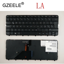 GZEELE New LA Laptop keyboard for HP Folio 13 13-1000 13-2000 13t-1000 13-1015TU series QWERTY LA/SP Layout backlit with frame spain original new laptop keyboard for samsung sf510 sf511 sp layout ba75 02724d with shell