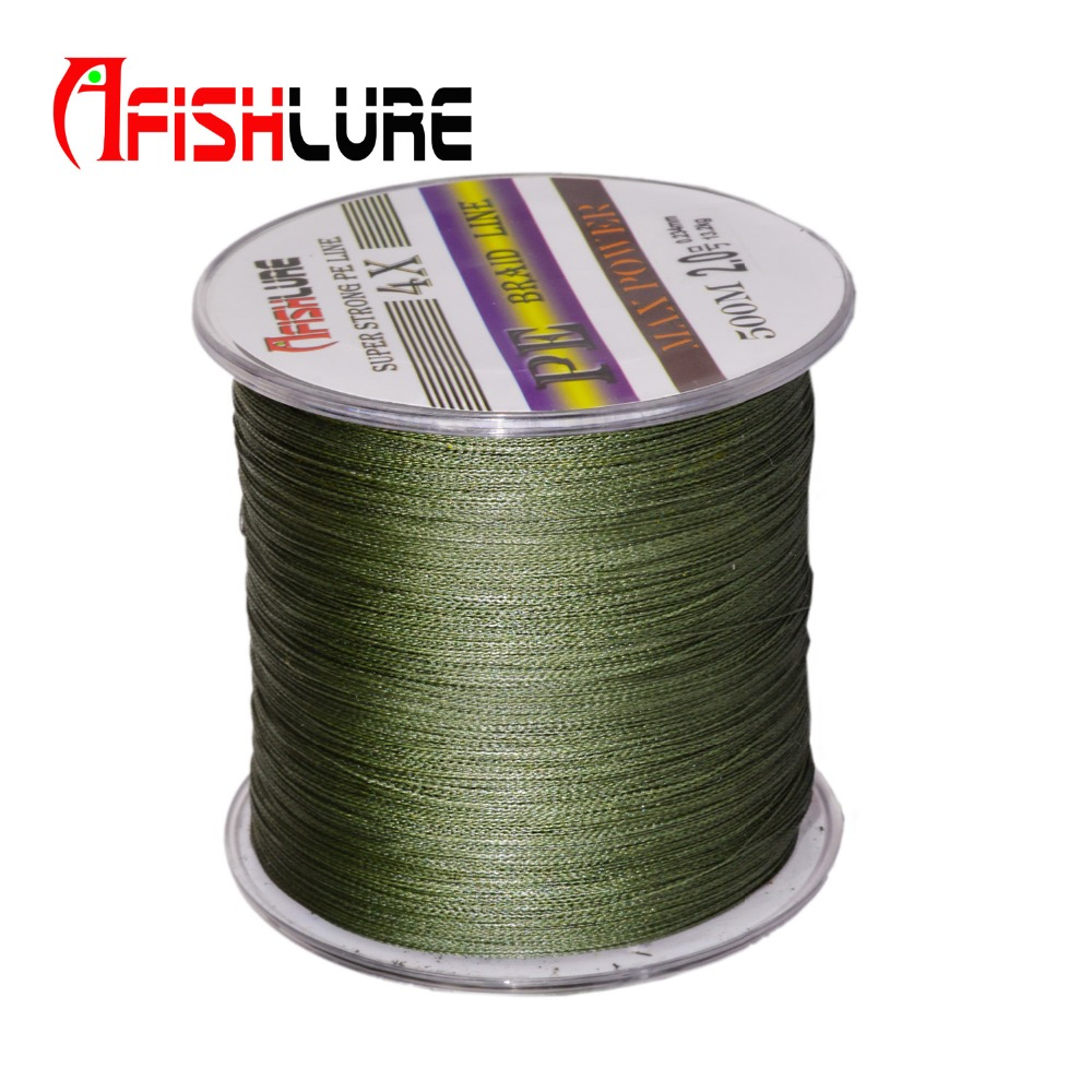Buy 500m multifilament 4 strands 100 pe for Best braided fishing line