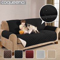 Waterproof Quilted Sofa Covers for Dogs Pets Kids Anti Slip Couch Recliner Slipcovers Armchair Furniture Protector 1/2/3 Seater