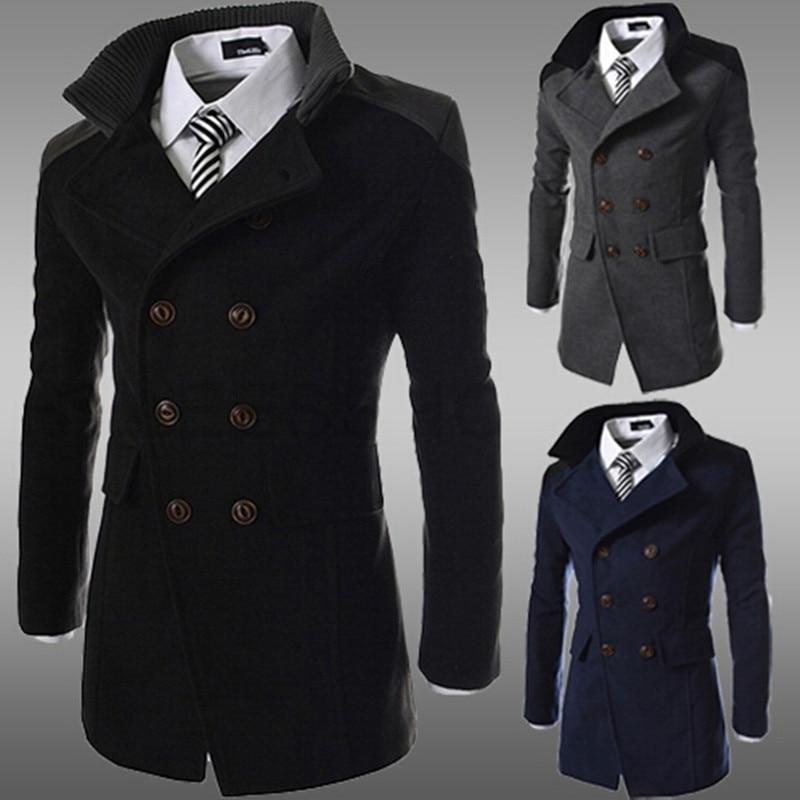 Online Get Cheap Men&amp39s Wool Trench Coat -Aliexpress.com