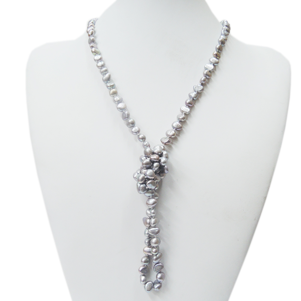 100% NATURE FRESHWATER PEARL LONG NECKLACE--AAA grade pearl, -90 CM necklace,available in difference colors