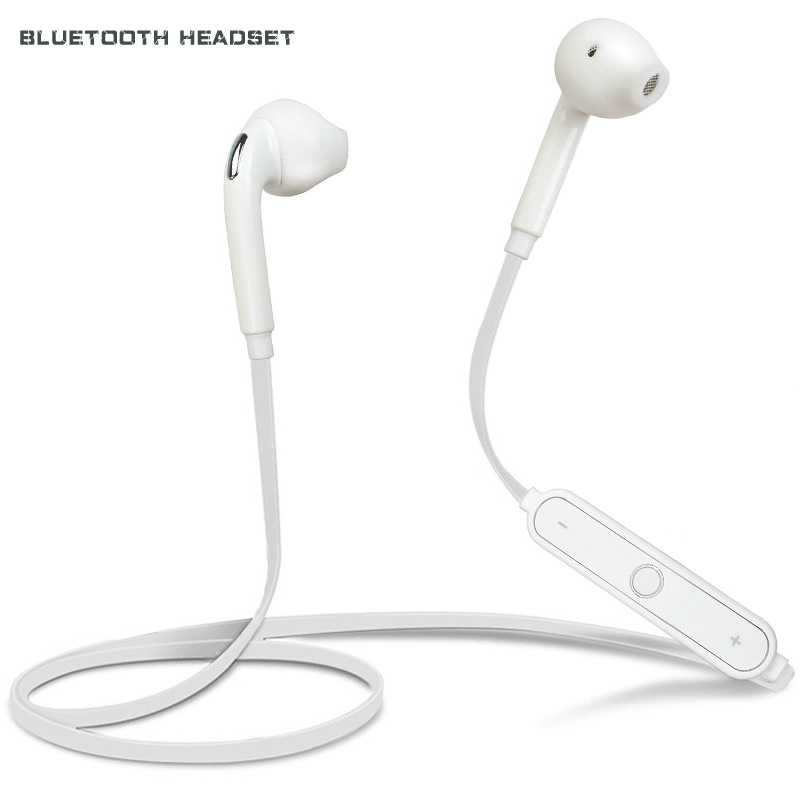 KAILUODA S6 Bluetooth Headset Wireless Sweatproof Earphone with Microphone Earpiece for samsung galaxy iphone HTC mobile phone remax rb t2 fashion aluminum bluetooth earphone wireless hd clear sound headset for iphone 5 6 samsung galaxy s4 android phone