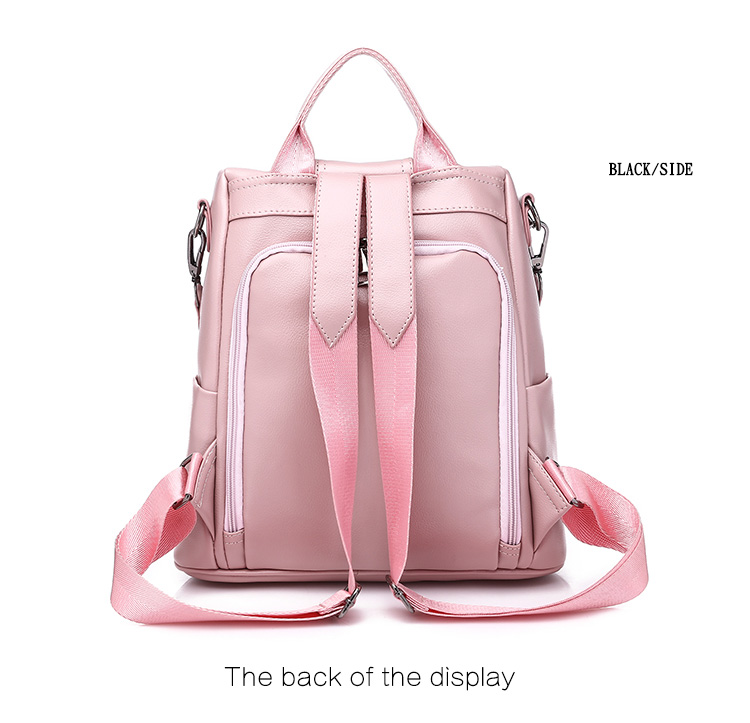 HTB14 DGUHPpK1RjSZFFq6y5PpXae - Leisure Women Backpack High Quality Leather Lady Anti Theft Shoulder Bags Lovely Girls School Bags Women Traveling Backpack