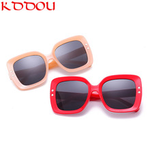 лучшая цена 2019 New Sunglasses Women Vintage Modis Brand designer Sun glasses men Square retro oversized sunglass uv400 oculos de sol