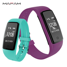 S1 Smart часы браслет крови Давление Фитнес Сна Монитор Сердечного Ритма Смарт-часы IP67 плавать Водонепроницаемый mafam