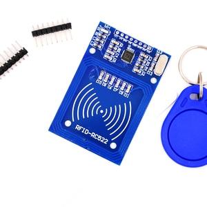 Image 2 - Mcigicm MFRC 522 RC522 Mfrc 522 Rfid Rf Ic kaart Inductieve Module S50 Fudan Card Key Chain Schrijven Robot