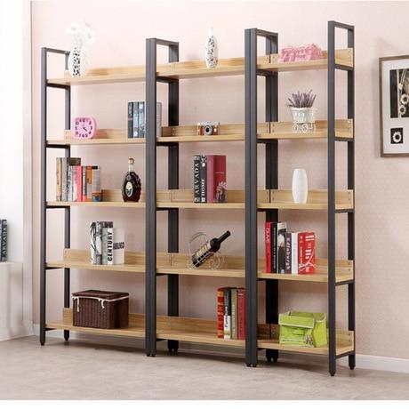 bibliotheque salon meubles meubles maison etagere armoire livre stand bois etagere livre rack industriel moderne 60 30 108 cm