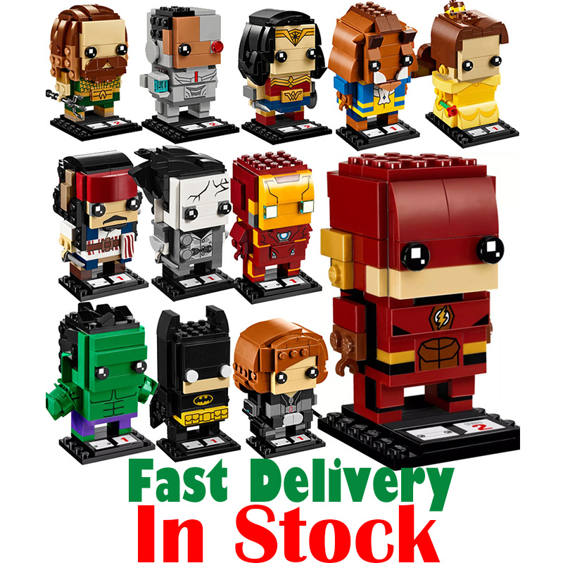 Lepin SuperHeroes IronMan Marvel Super Heroes Batman pirate Figures Building Blocks Bricks Heads Headz legoing Toys for Children single star wars super heroes marvel ninja wu master building blocks models bricks toys for children kits brinquedos menino