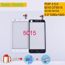 For Alcatel One Touch POP 3 5.0 5015D 5015A 5015X OT5015 5015 Touch Screen Touch Panel Sensor Digitizer Front Glass Touchscreen стоимость