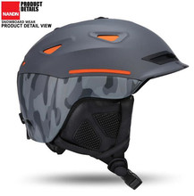 NANDN Winter Outdoor Sports Unisex Safety Ski Helmet Breathable Ultralight Skiing Cap For Men Women Snowboard Skateboard