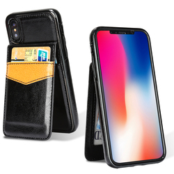 HAISSKY Phone Case For iPhone Xs Max XR Case iPhone X 10 Wallet Case Luxury Leather Magnetic Cover Card Holder Mobile Fundas 2
