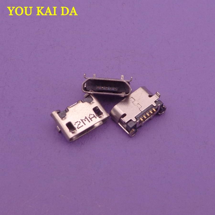 50pcs Charging Connector For ASUS K012 Fonepad7 FE170 Usb Port Plug Dock Repair Parts Micro Mini Jack Socket Replacement 5-pin