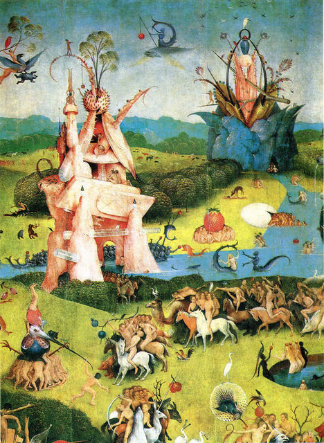 The Garden Of Earthly Delights HIERONYMUS BOSCH Fabric