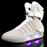STRONGSHEN USB Charging Led Children Shoes With Light Up Kids Casual Boys&Girls Luminous Sneakers Glowing Shoe enfant size 39 45