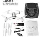 Hubsan X4 H502S RC Drone 5.8G FPV GPS Mode d'altitude RC quadrirotor 720 P HD caméra un retour de clé avec télécommande intelligente