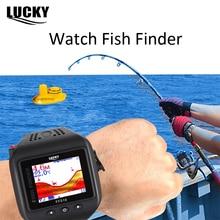LUCKY FF518 Watch Type Sonar Fish Finder Wireless Wrist Fishfinder 200 Feet(60M) Range Portable Echo Sounder for Fishing цена 2017