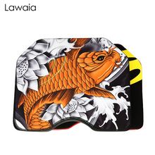 Lawaia Fishing Box Koi Cushion Thick Waterproof Breathable Suction Cup Mat Diving Suit Material Memory High Elastic Tool
