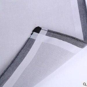 Image 4 - 12pcs Mens  Handkerchiefs 100% Cotton Square Super Soft Washable Hanky Chest Towel Pocket Square 43 x 43cm