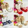 2015 de invierno nuevos niños 0-1 años de algodón calcetines/medias de toalla/calcetines de bebé caliente siesta/envío Gratis