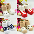 2015 winter new children 0-1 years old cotton socks / terry socks / baby socks warm nap / Free Shipping